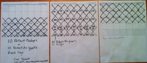 Seinfeld Method Calendar