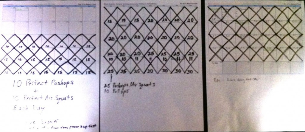 77 Days Of Consecutive Exercise