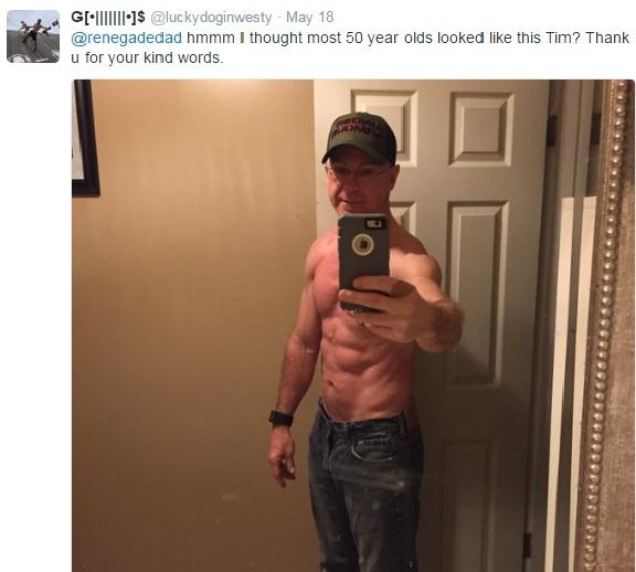Glenn's Twitter response