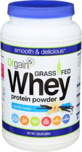 Orgain Grass Fed Whey Protein